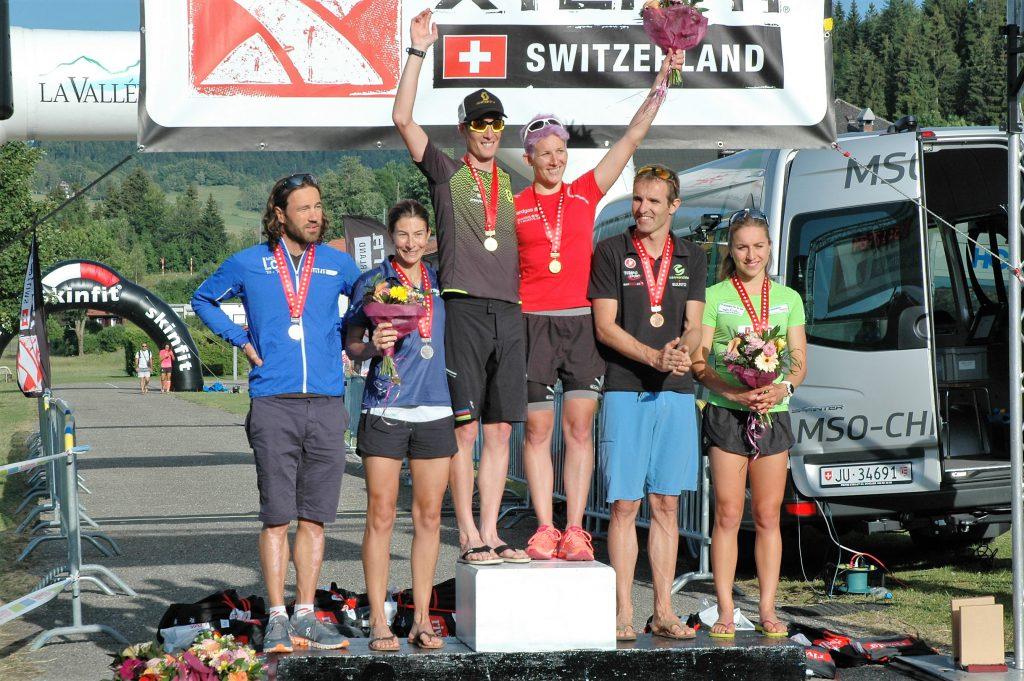 3ème Championnat CH Cross-Triathlon, D 18-34 ans - Vallée de Joux